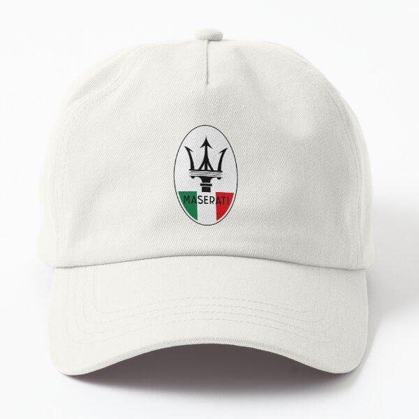 italian maserati symbol Dad Hat