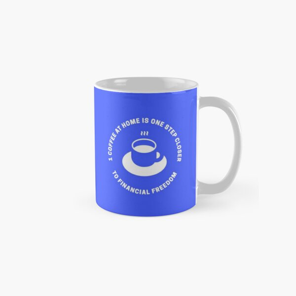 Coffee At Home - Blue Classic Mug