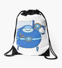 The Blueberry Knight Drawstring Bag