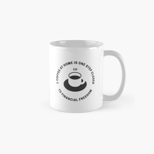 Coffee At Home - White Classic Mug