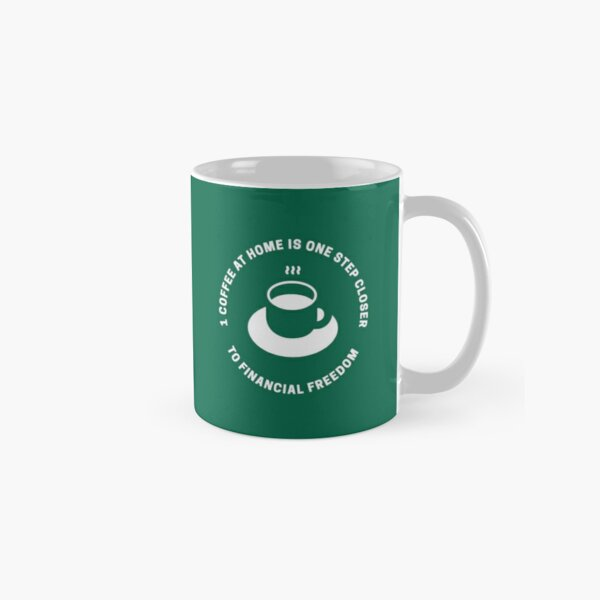Coffee At Home - Green Classic Mug
