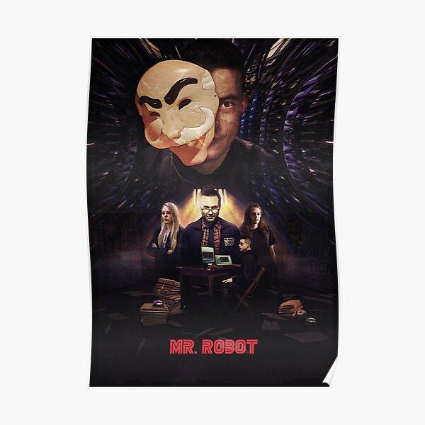 Mr. Robot - Le contrôle est une illusion Poster
