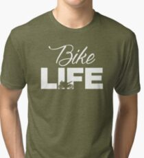 Motorcycle Rider Life Tri-blend T-Shirt