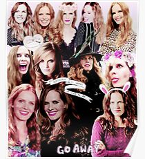 Rebecca Mader Collage Poster