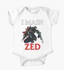 I main Zed - League of Legends Kids Clothes