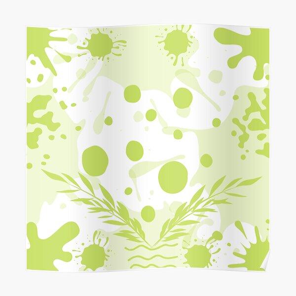 Light Green Quiet Spot Poster