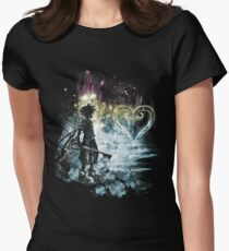 a path to the heart Womens Fitted T-Shirt