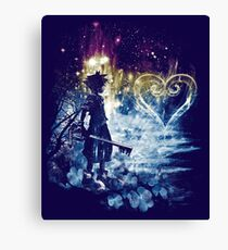 a path to the heart Canvas Print