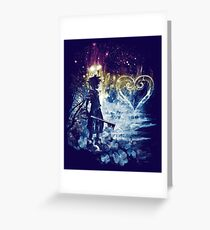 a path to the heart Greeting Card