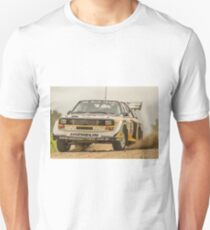 Audi Quattro S1 E2 Replica - Lightforce Rally SA 2016 Unisex T-Shirt