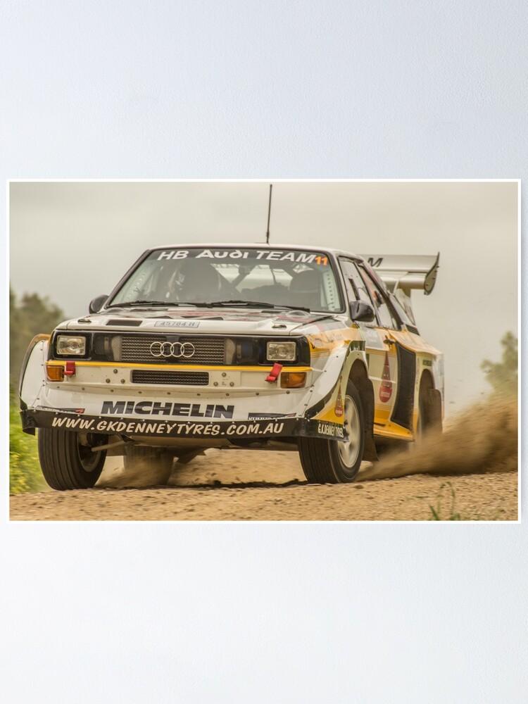 Alternate view of Audi Quattro S1 E2 Replica - Lightforce Rally SA 2016 Poster