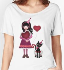Francis Mary - Valentine Love Women's Relaxed Fit T-Shirt