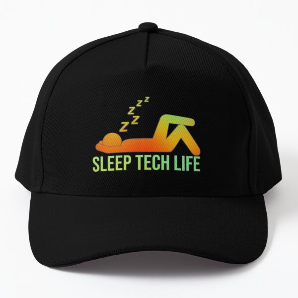 Sleep tech life O/G Baseball Cap