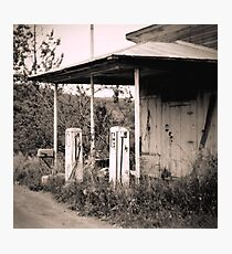 Gas Station Photographic Print