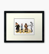 The Wizard of Oz Tim Burton Style Framed Print