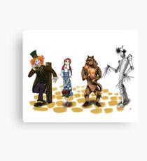 The Wizard of Oz Tim Burton Style Canvas Print