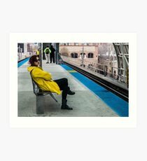 Waiting for the CTA Art Print