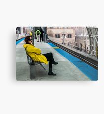 Waiting for the CTA Metal Print