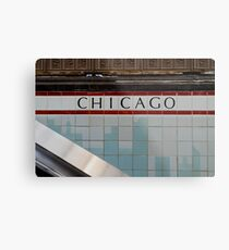Chicago Redline Metal Print