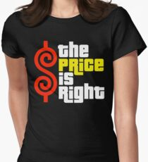The Price Is Right Reality Show Womens Fitted T-Shirt