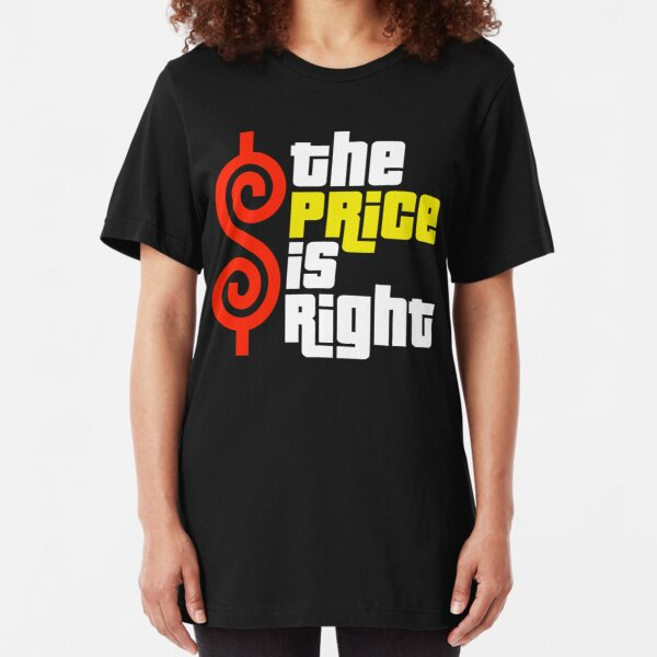 The Price Is Right Reality Show Slim Fit T-Shirt