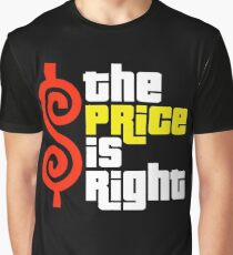 The Price Is Right Reality Show Graphic T-Shirt