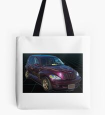 Purple PT CRUISER Tote Bag