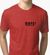 What would Pablo Do? Tri-blend T-Shirt