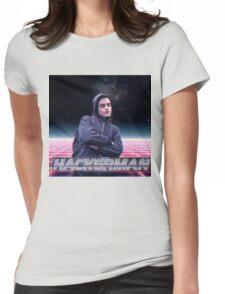Hacker man Womens Fitted T-Shirt