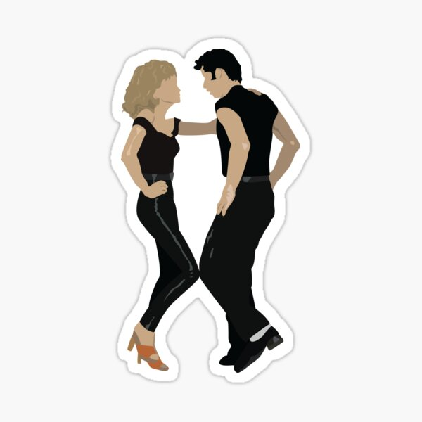 Grease - Danny and Sandy Sticker