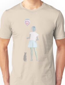 Girl with a balloon Unisex T-Shirt