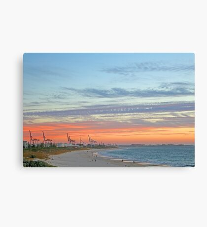 Port Beach Fremantle Western Australia  Canvas Print