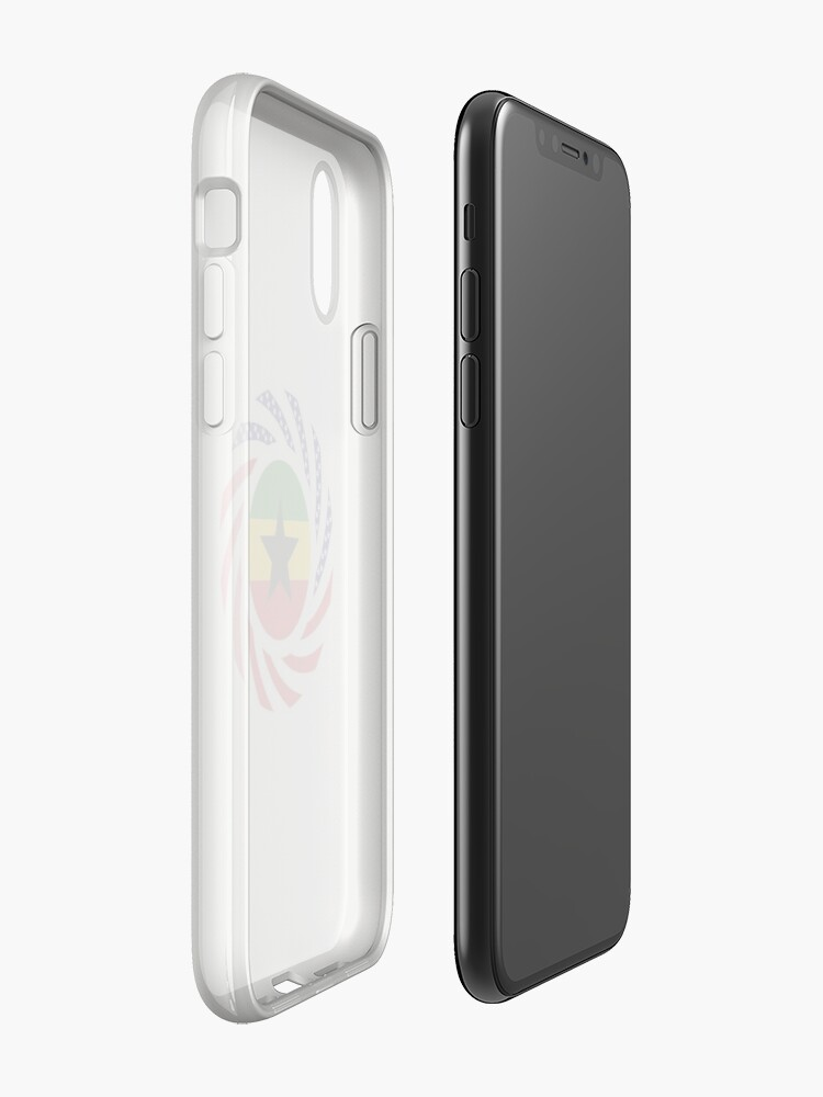 Alternate view of Ghanaian American Multinational Patriot Flag Series iPhone Case & Cover