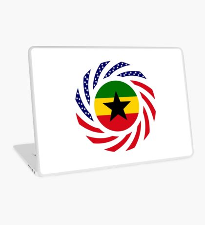 Ghanaian American Multinational Patriot Flag Series Laptop Skin