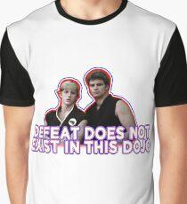 Niederlage? Nicht in diesem Dojo. Grafik T-Shirt