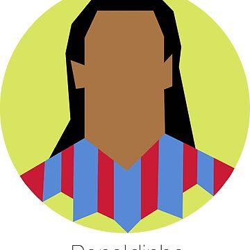 Ronaldinho Barcelona by Boscy