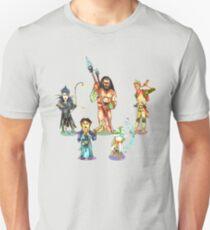 D&D water deep party Copyright Rob Gamble,Steve Heath,Brandon Thomas, Greg Lewis, 2016 Unisex T-Shirt