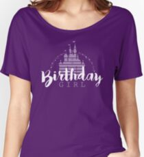 Birthday Girl Dreams Women's Relaxed Fit T-Shirt