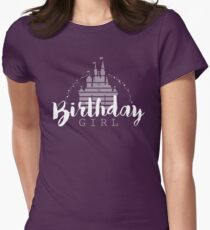 Birthday Girl Dreams Women's Fitted T-Shirt