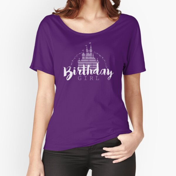 Birthday Girl Dreams Relaxed Fit T-Shirt