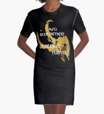 I am burdened with glorious purpose Graphic T-Shirt Dress