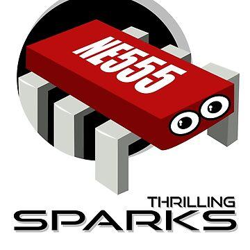 THRILLING SPARKS by bravotopo