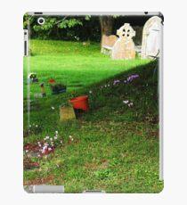 By the tree in Churchyard....... Uplyme Devon UK iPad Case/Skin
