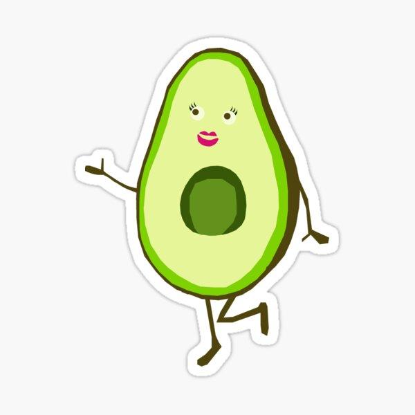 Mrs Avocado  Sticker
