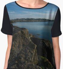 Revere Beach Chiffon Top