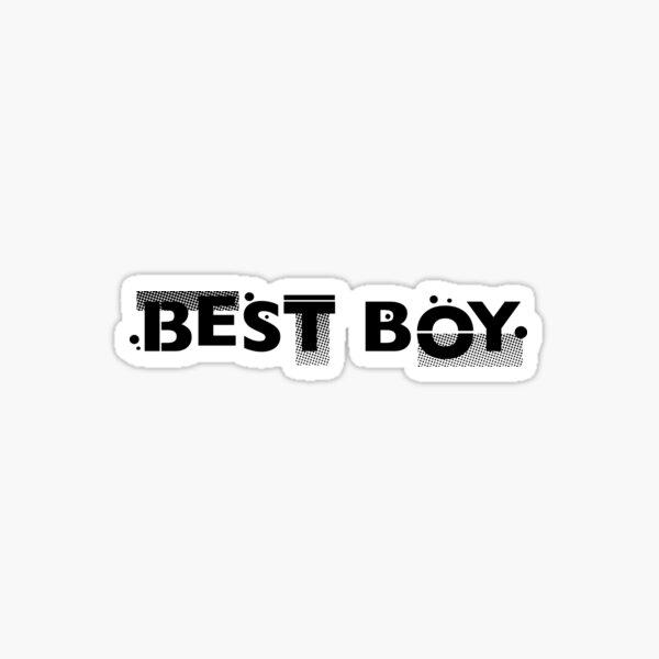 Film Crew. Best Boy. Sticker