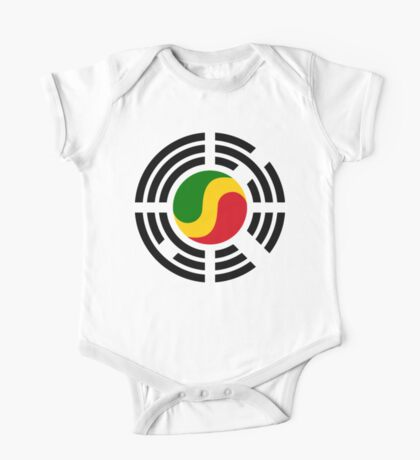 Korean Congolese Multinational Patriot Flag Series Kids Clothes
