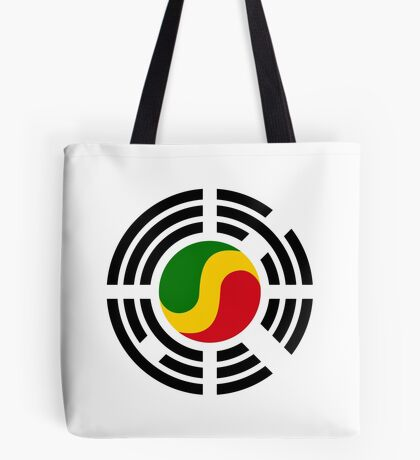 Korean Congolese Multinational Patriot Flag Series Tote Bag