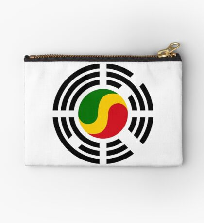 Korean Congolese Multinational Patriot Flag Series Zipper Pouch
