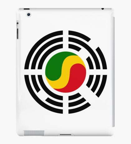 Korean Congolese Multinational Patriot Flag Series iPad Case/Skin
